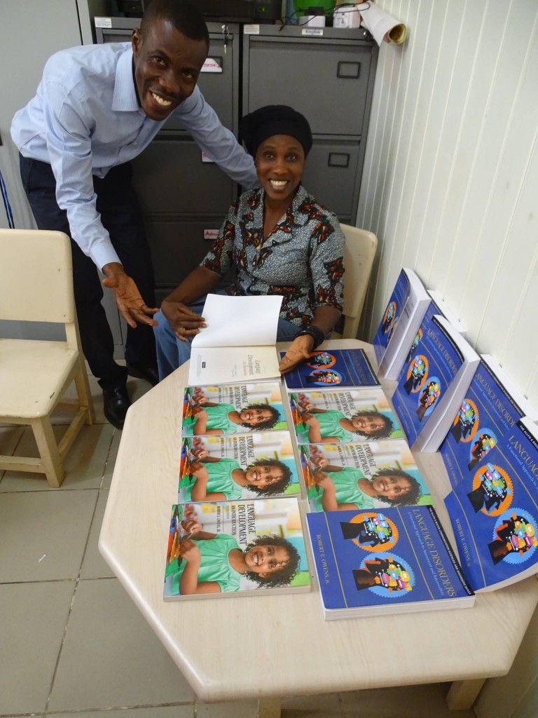Owens Book at Ghana University